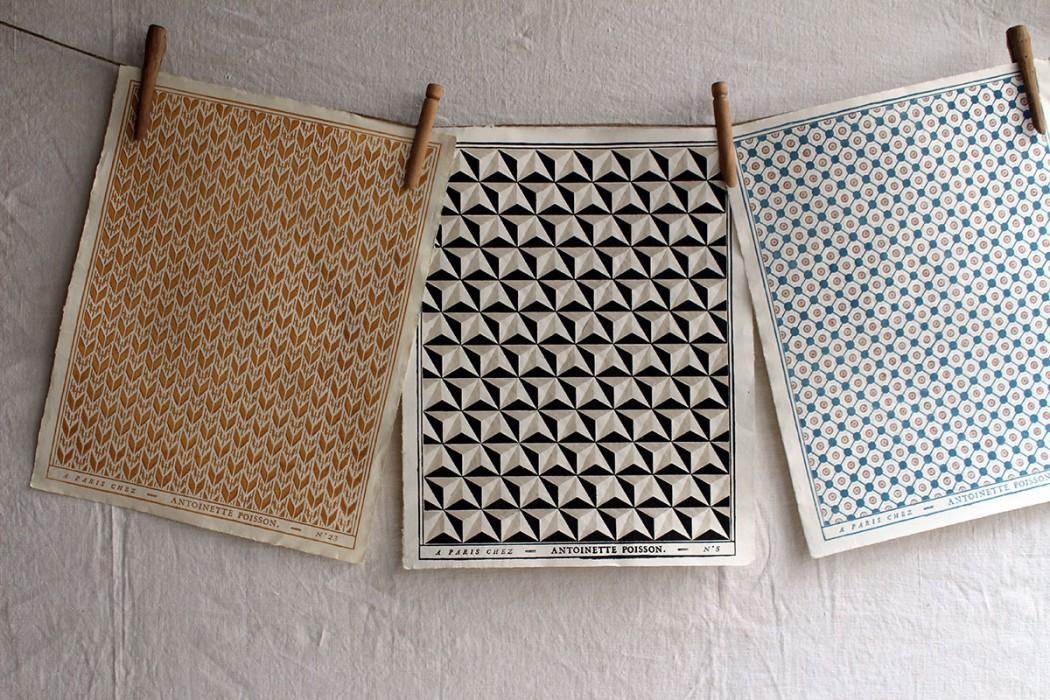 Le Papier Peint Dominoté