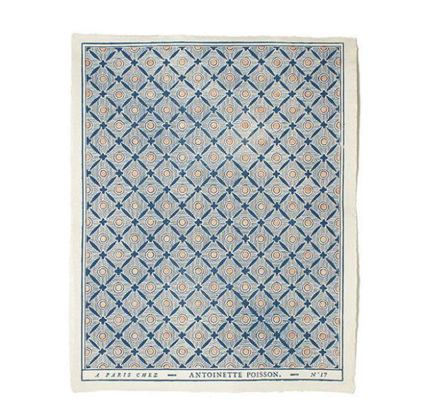 papier dominoté fleurs et rubans