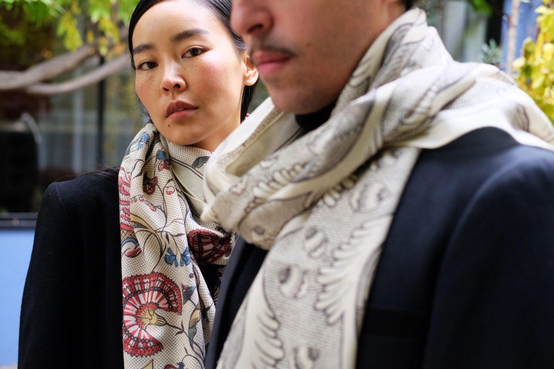 Notre collection d'étoles & carrés de soie bientôt en boutique